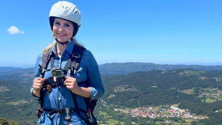 """Judith Rakers wagte sich für """"Wunderschön"""" in spanische Höhen. (wag/spot)"""