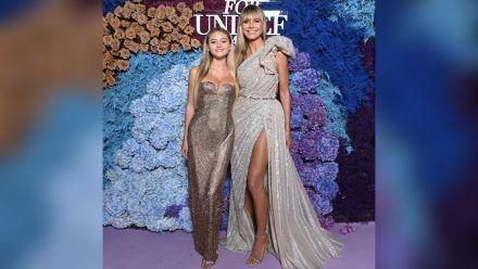 Leni und Heidi Klum (r.) strahlen um die Wette. (eee/spot)