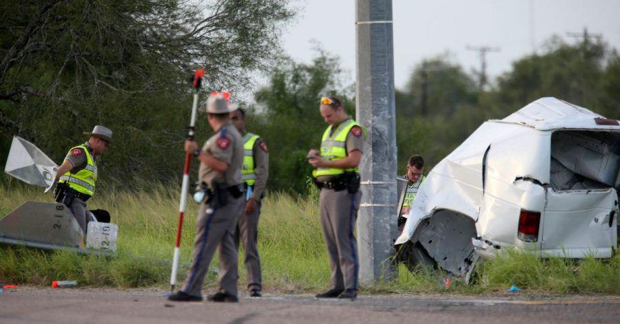 Viele Tote nach einem Verkehrsunfall im südlichen US-Bundesstaat Texas.