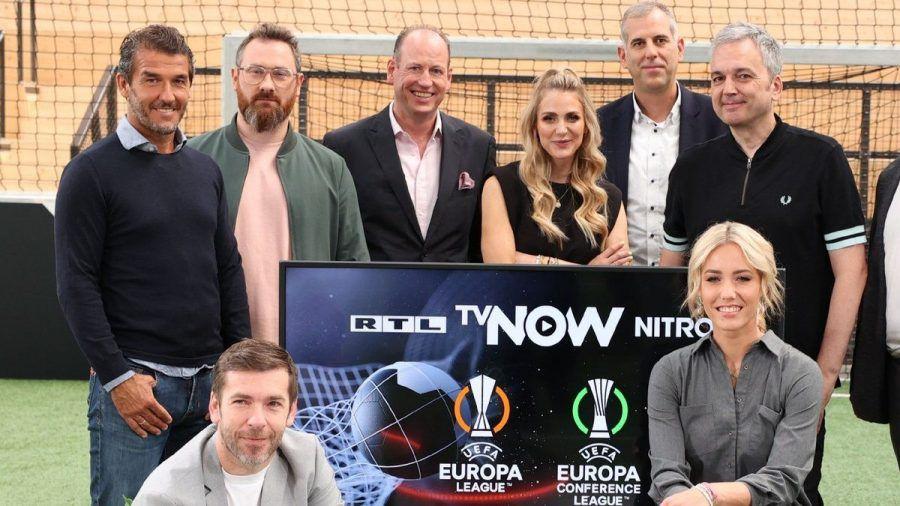 Zum Europapokal-Team der Mediengruppe RTL gehört unter anderem Karl-Heinz Riedle (l.) (wue/spot)