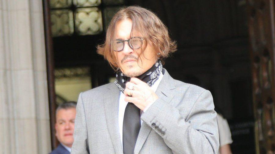 """Johnny Depp im vergangenen Jahr während seines Prozesses gegen die britische """"The Sun"""" (wue/spot)"""