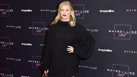 Luna Schweiger bei der Maybelline Fashion Show