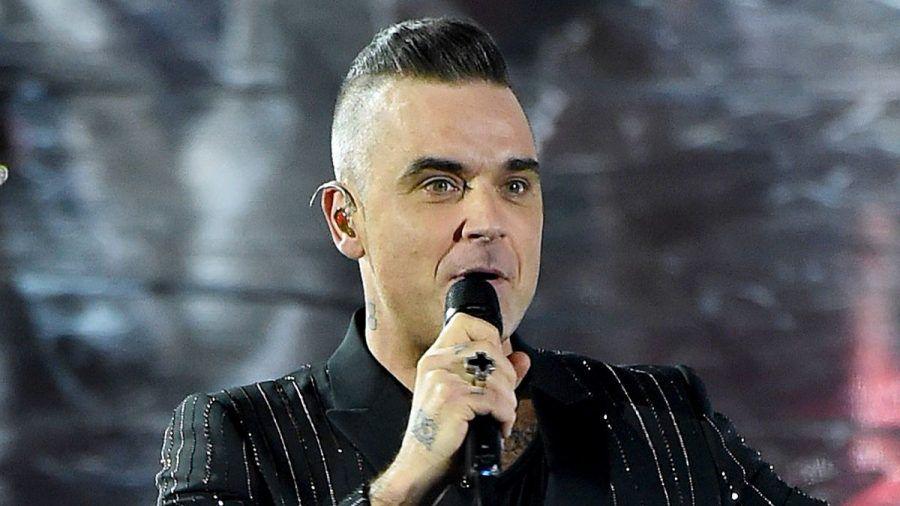 Robbie Williams: Sein Sohn hat jetzt auch eine Iro-Frisur
