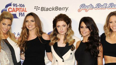 Girls Aloud (v.l.): Sarah Harding, Nadine Coyle, Nicola Roberts, Cheryl Cole und Kimberley Walsh. (ili/spot)