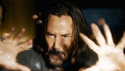 """Keanu Reeves spielt auch in """"The Matrix Resurrections"""" wieder den Neo. (wue/spot)"""