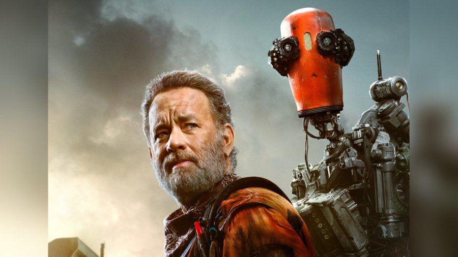 "Tom Hanks auf dem Poster zu ""Finch"". (smi/spot)"