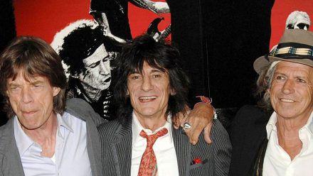 The Rolling Stones bestehen jetzt nur noch aus Mick Jagger (v.l.), Ron Wood und Keith Richards. (ili/spot)