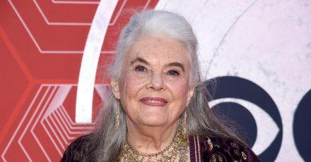 Lois Smith bei der Verleihung der Tony Awards im Winter Garden Theatre.