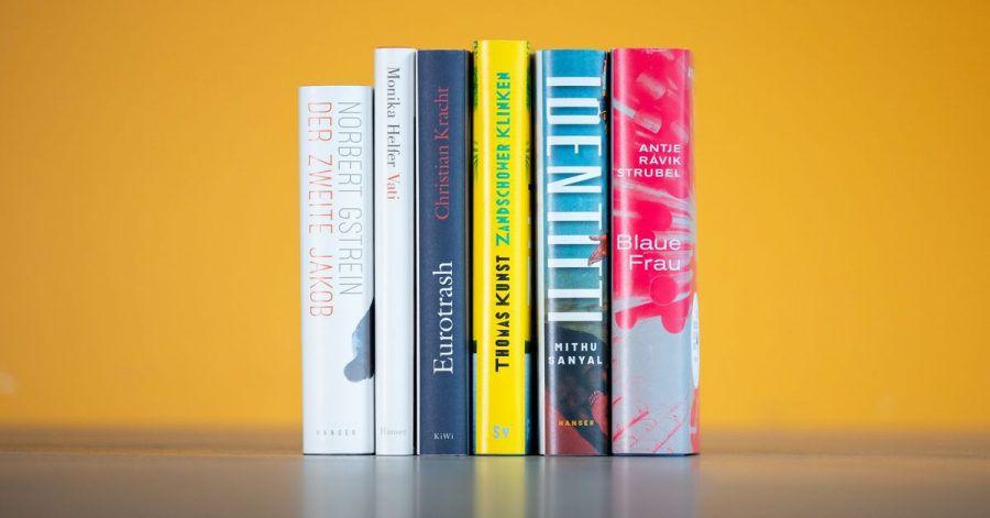 Cover der Bücher, die auf der Shortlist für den Deutschen Buchpreis 2021 stehen.