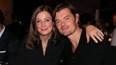 Alexandra Maria Lara und Ehemann Sam Riley freuten sich, mal wieder miteinander ausgehen zu können. (ves/spot)
