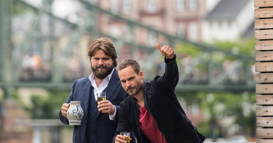 Wieder fürs ZDF im Einsatz: Wanja Mues (r) als Leo Oswald und Antoine Monot als Benni Hornberg.