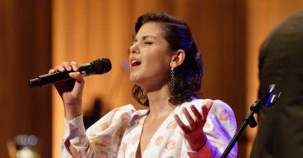 Die Sängerin Katie Melua im August bei der Verleihung der Europäischen Kulturpreise in Bonn.