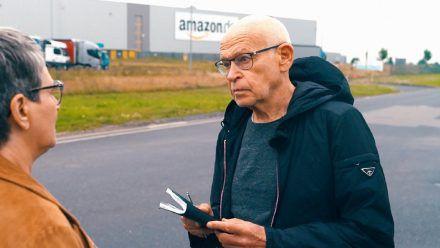 Günter Wallraff und sein Team sind bei Amazon undercover gegangen. (ncz/spot)