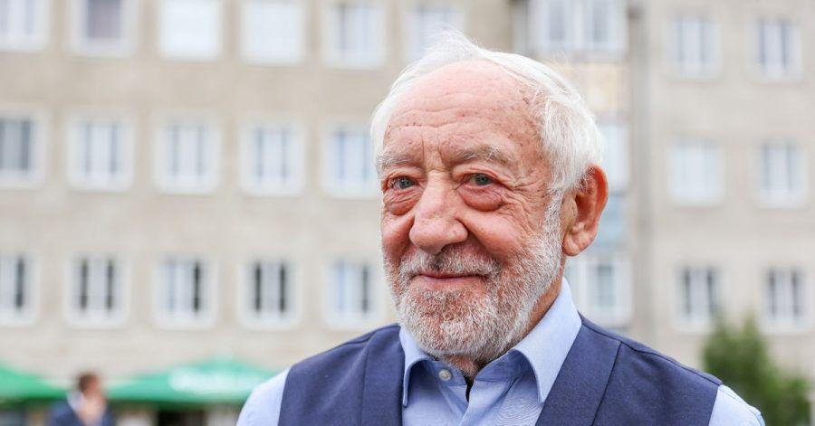 Dieter Hallervorden, Schauspieler, Komiker und Theaterleiter, möchte ein Theater in Dessau eröffnen.