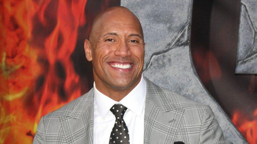 """Dwayne """"The Rock"""" Johnson hat seinen Zwilling gefunden. (eee/spot)"""