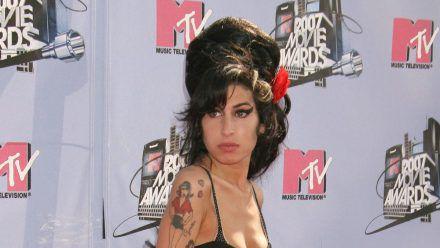 Amy Winehouse bei den MTV Movie Awards im Jahr 2007. (ncz/spot)