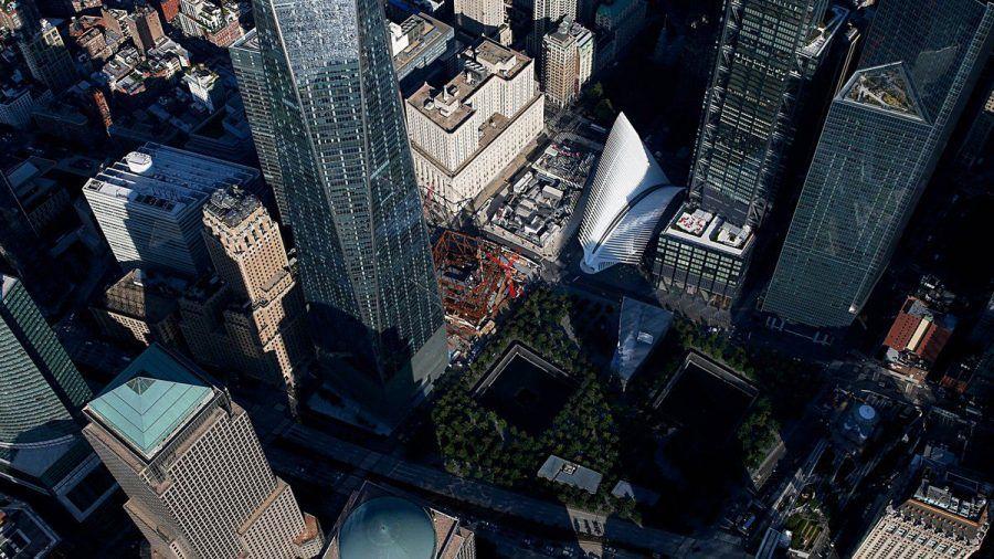 Ground Zero heute: Das Gelände, das bei den Terroranschlägen am 11. September 2001 zerstört wurde. (kms/spot)