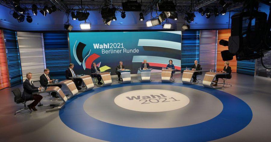 Die «Berliner Runde» fand bei den TV-Zuschauern das größte Interesse.
