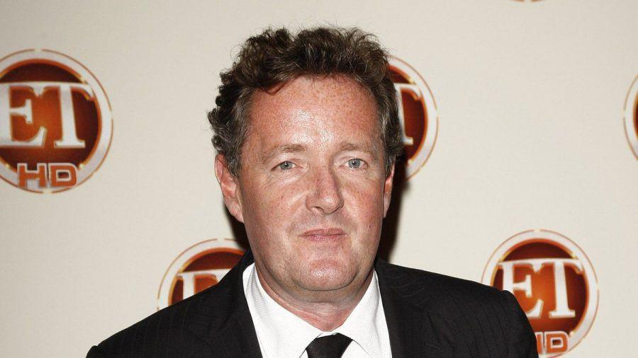 Der britische Moderator Piers Morgan während eines Events in Kalifornien. (wue/spot)