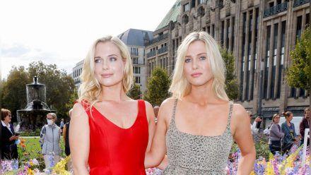 Lady Eliza Spencer (li.) und ihre Zwillingsschwester Lady Amelia Spencer (stk/spot)
