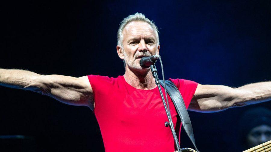 Sting während eines Auftritts in Italien im Jahr 2019. (wue/spot)