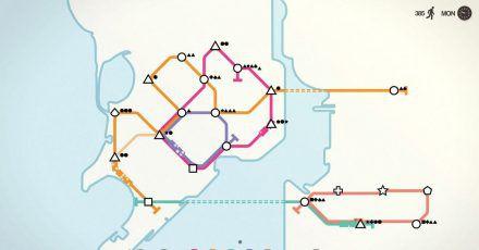 Die Linien auf der Halbinsel und die auf dem Festland müssen schlau verbunden werden.