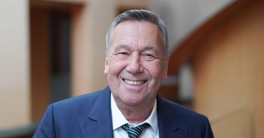 Der Sänger Roland Kaiser wirbt für die SPD.