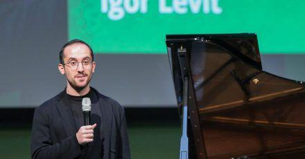 Igor Levit wurde geehrt.