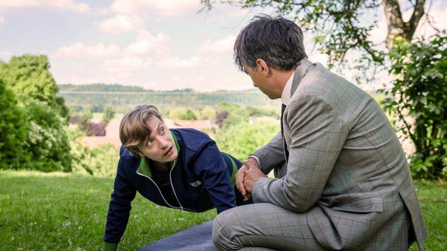 """""""Sturm der Liebe"""": Unwissentlich unterstützt Robert (r.) Gerrys Wunsch, ein Held zu werden. (cg/spot)"""