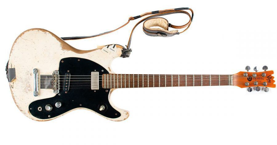 Die 1965 Mosrite Ventures II E-Gitarre von Johnny Ramone.