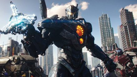 """Pacific Rim - Uprising"": Die Kaiju bedrohen erneut die Erde. (cg/spot)"