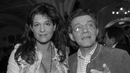 Andrea Berg trauert um ihren Musikproduzenten Eugen Römer (r.). (ncz/spot)