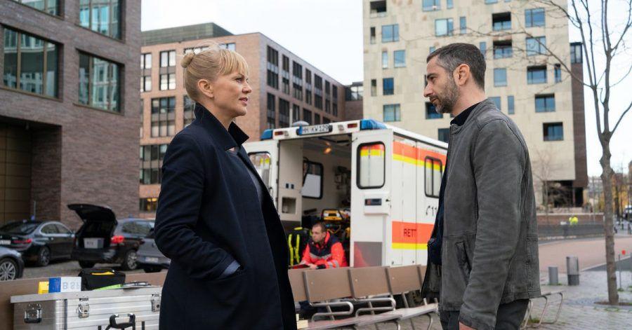 Helen Dorn (Anna Loos) und Tayfun Murat (Denis Moschitto) in «Die letzte Rettung».