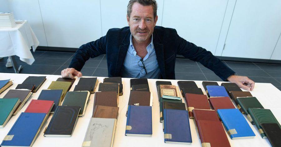 Kai Diekmann übergab der Stadt Siegburg Tagebücher von Wolfram Humperdinck