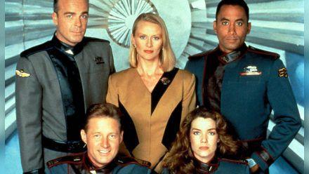 """Ein Teil der alten Crew von """"Babylon 5"""". (mia/spot)"""