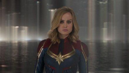 """""""Captain Marvel"""": Carol Danvers (Brie Larson) hat einen besonderen Auftrag. (cg/spot)"""