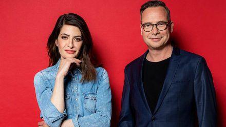 """Linda Zervakis und Matthias Opdenhövel haben mit """"Zervakis & Opdenhövel. Live."""" ihre eigene Sendung. (jom/spot)"""