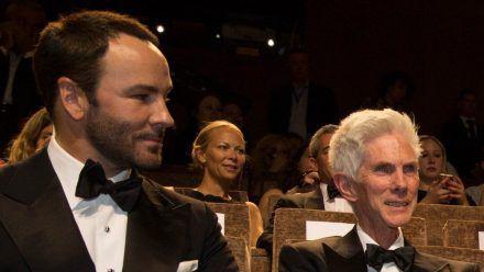 Tom Ford (l.) mit seinem Ehemann Richard Buckley bei einer Filmpremiere. (hub/spot)