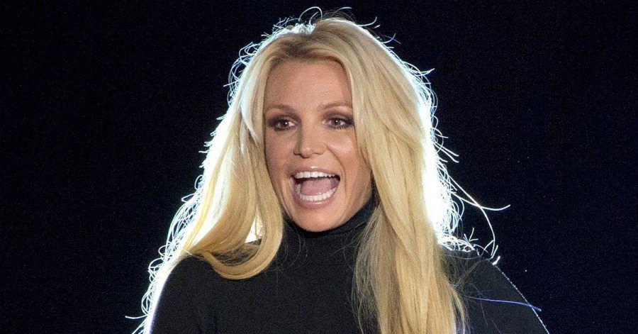 Britney Spears steht auf einer Bühne inLas Vegas. Die US-Sängerin hat ihren Instagram-Account deaktiviert.