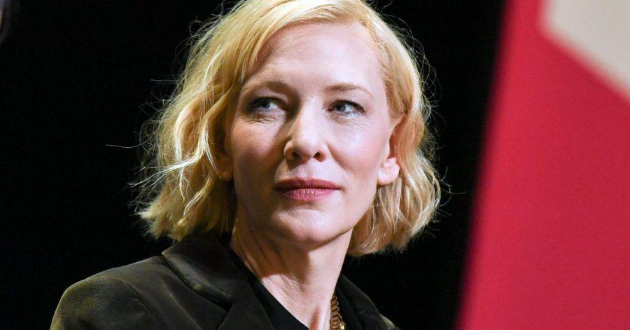 Schauspieler Cate Blanchett nimmt an einem Gespräch der Berlinale Sektion Talents im HAU 1 teil. )