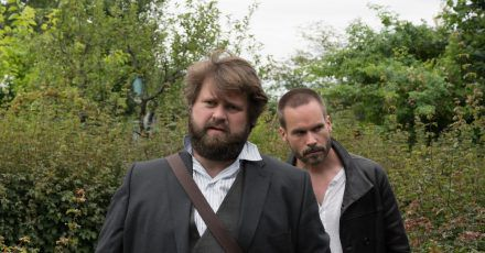 Fest entschlossen:Benni Hornberg (Antoine Monot, Jr.) und Leo Oswald (Wanja Mues, r).