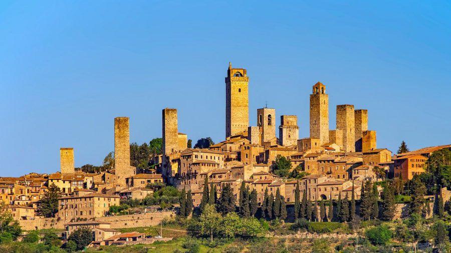 San Gimignano in der Toskana gehört seit 1990 zum Weltkulturerbes der UNESCO. (kms/spot)