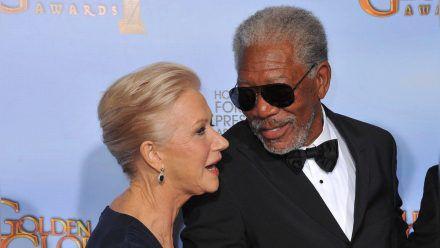 """Helen Mirren und Morgan Freeman werden in """"Sniff"""" zu Gegenspielern. (wue/spot)"""