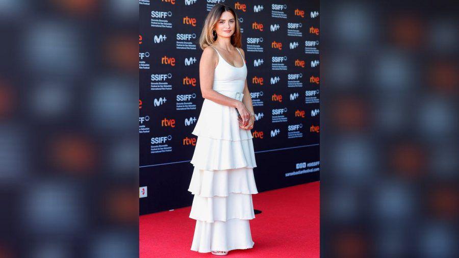 """Penélope Cruz präsentierte in Spanien ihren neuen Film """"Competencia oficial"""". (wag/spot)"""