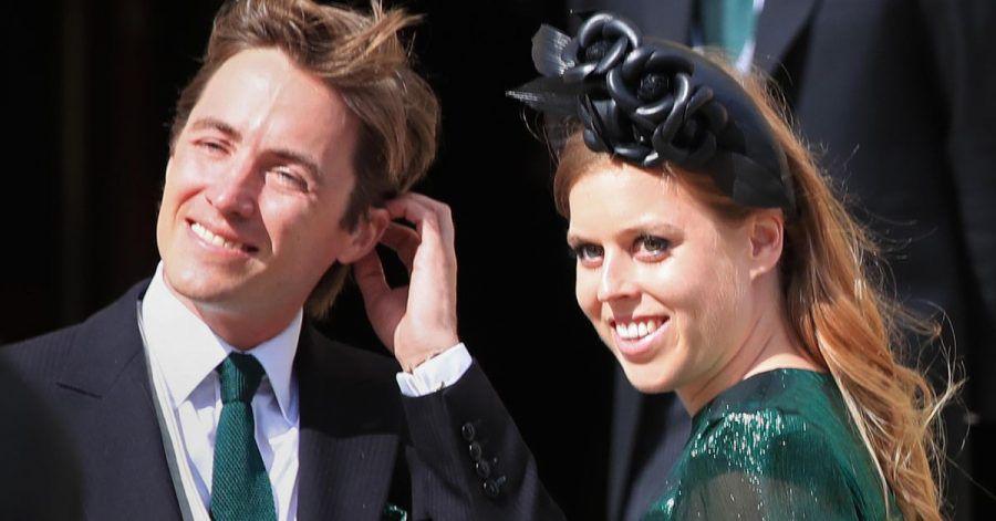 Prinzessin Beatrice, Prinzessin vonYork, und ihr Ehemann Edoardo Mapelli Mozzi.