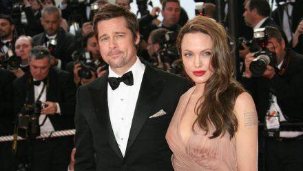 Hollywoods einstiges Traumpaar: Brad Pitt und Angelina Jolie (mia/spot)