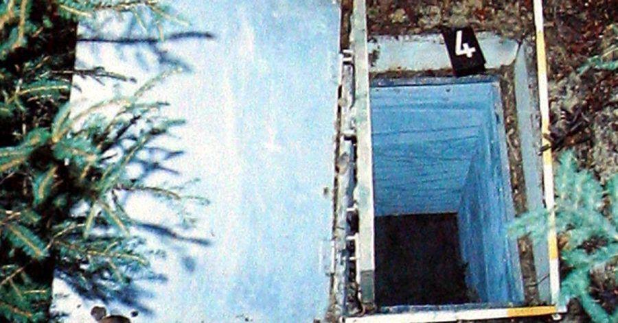 Die Reproduktion zeigt die Kiste, in der 1981 das zehnjährige Entführungsopfer Ursula Herrmann aus Eching am Ammersee erstickte.