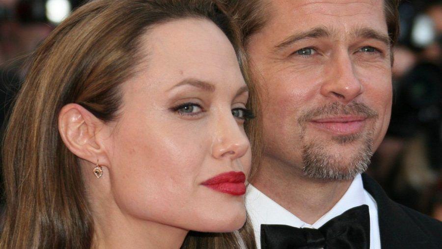 Angelina Jolie und Brad Pitt während glücklicherer Tage in Cannes.  (wue/spot)
