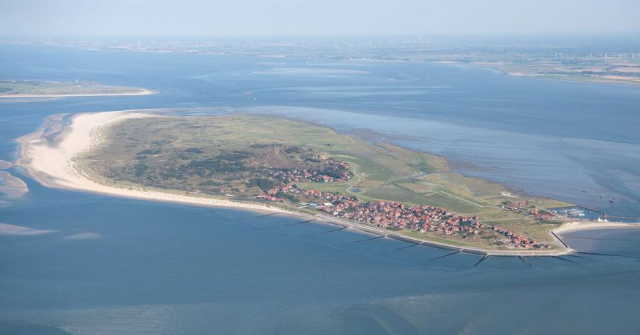 Die ostfriesische Insel Baltrum.