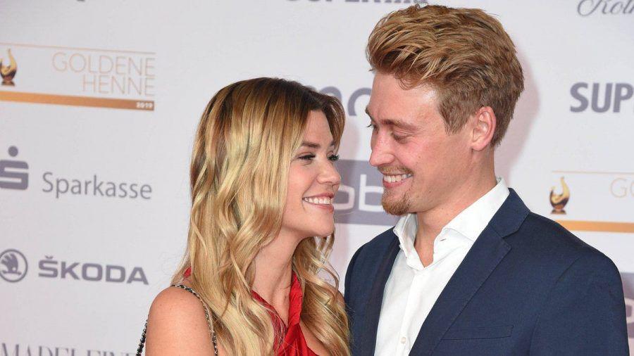 Nadine Klein mit ihrem heutigen Ehemann Tim im Jahr 2019. (wue/spot)